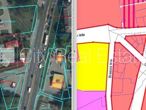 Land for sale in Riga, Teika 425413
