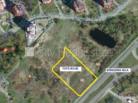 Land for sell in Riga, Mezaparks 410479