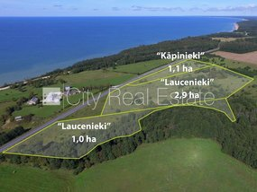 Land for sell in Ventspils district, Jurkalnes parish