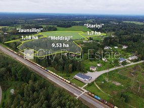 Land for sell in Riga district, Vangazi
